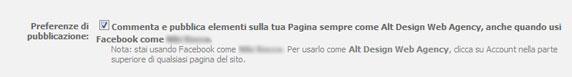 impostazioni privacy pagina facebook