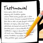 testimonial landing page