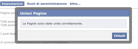 pagine facebook unite