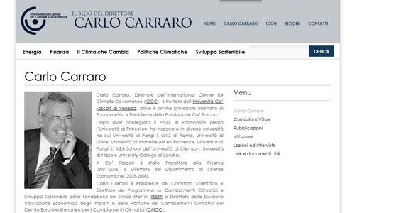 Realizzazione Blog WordPress di Carlo Carraro