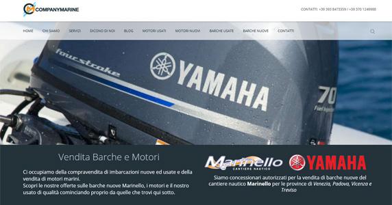 Realizzazione Sito Web WordPress CompanyMarine
