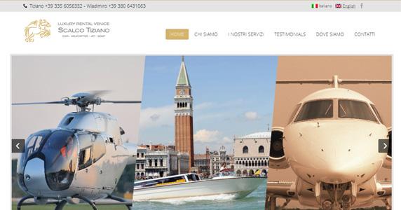 Creazione Sito Internet Luxury Rental Padova