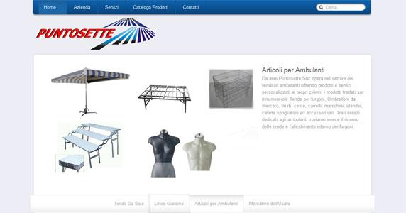 Sviluppo Sito Web Puntosette Snc Mirano
