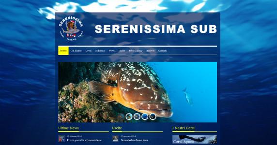 Creazione Sito Web Serenissima Sub Padova