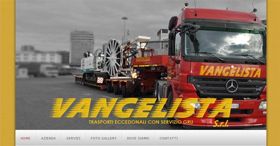 Portfolio: Vangelista Trasporti Eccezionali